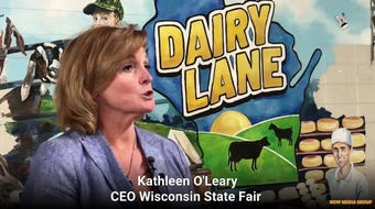 A 450-square-foot mural will greet Wisconsin State Fair visitors at Dairy Lane.