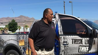 El Paso Auto Theft Task Force spokesman Stephen Plummer gives tips to prevent vehicle thefts and burglaries.