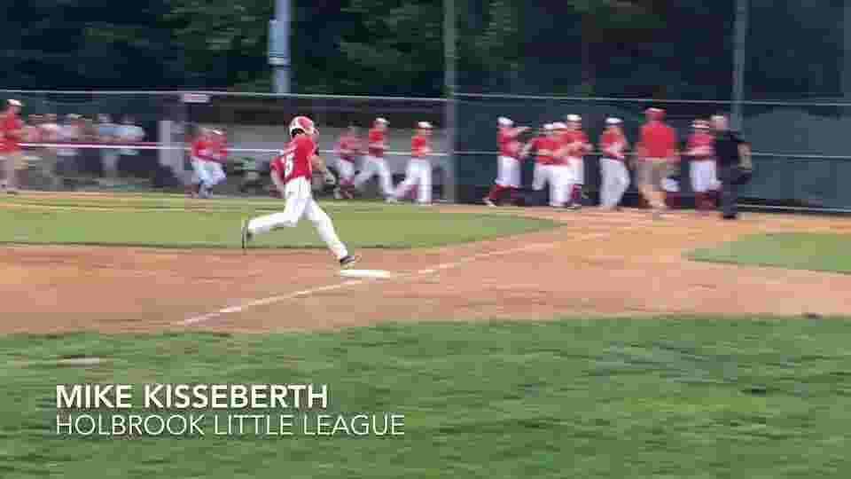 Little League: Mike Kisseberth hits dramatic walk-off home run versus Brick