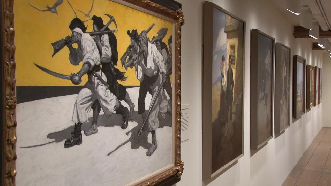 N C  Wyeth exhibit opens in Chadds Ford