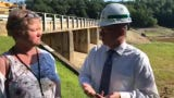 JT Hand with the York Water Company talks about the historic day for the company and how the lake will begin to refill.