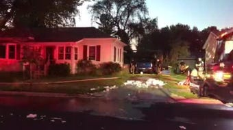 Stevens Point police said a body was found inside a detached garage at 608 Sixth Ave. after a fire broke out Wednesday evening, June 26, 2019.