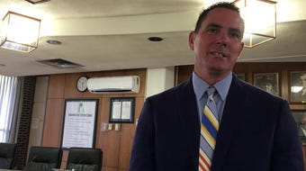 New Rapides Parish Schools Superintendent Jeff Powell talks Thursday (June 27, 2019) about his selection and immediate plans.