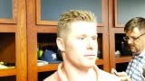 Milwaukee Brewers pitcher Chase Anderson talks about his solid outing against the Seattle Mariners
