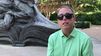 James Wagstaff, executive director of Big Country Aids Resources, talks about Pride in the Park, an opportunity for Abilene's LGBTQ community to celebrate