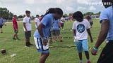 Tre Boston invited local kids and area coaches to North Fort Myers High School on Saturday for his 2nd annual Beyond Belief football camp