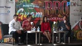 Organizers gather to promote the 7th Annual BBQ Block Party schedule to be held in Tumon on Saturday, July 6, 2019.