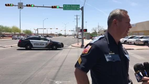 Video: El Paso police update on woman with gun at El Paso Health and Human  Services