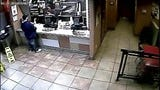 Jack in the Box surveillance video shows Francisco Tarin on June 17, 2019. Police were called to the restaurant because of Tarin's suspicious behavior.