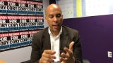 Cory Booker talked with the USA TODAY Network in Las Vegas about charter schools, universal medicare and navigating a Republican-controlled senate.