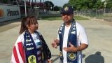 Abel Acosta on why he and his wife, Gabby, support Nashville SC and what intrigued them the most on the team.