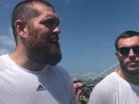 Buffalo Bills tight end Lee Smith and Minnesota Vikings safety Harrison Smith host football camp