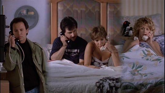 'When Harry Met Sally' turns 30: Why the four-way call is secretly the rom-com's genius moment
