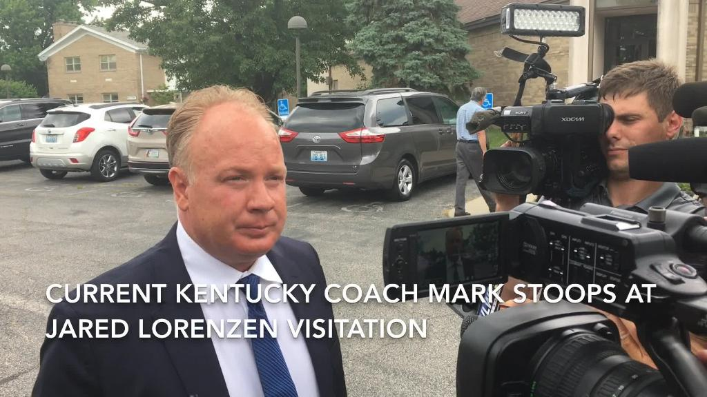 VIDEO Kentucky football coach Mark Stoops on Jared Lorenzen