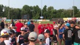 Scenes from the Hudson Valley Renegades' champions night on Wednesday at Dutchess Stadium.