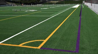 The Pit was resurfaced this summer ahead of the 2019 fall sports season.