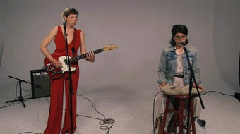 """Caley Conway performs """"Cold Hymn"""" in the Tap Milwaukee studios."""