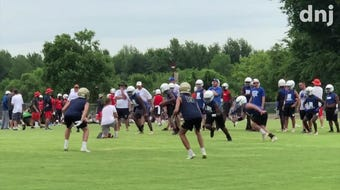 Rockvale, Blackman and Riverdale highlights from Thursday's 7-on-7 tournament at Riverdale.