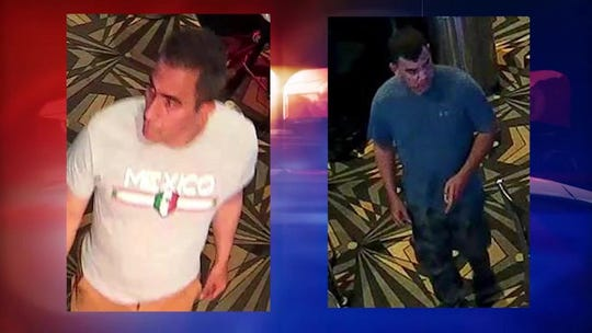 2 men suspected of stealing $1,200 from ATM at Speaking Rock casino using  duplicated cards