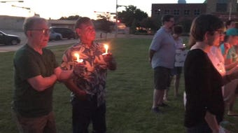 A nationwide organization held candlelight vigils across the country Friday, including one in Abilene, for those currently living in detention centers