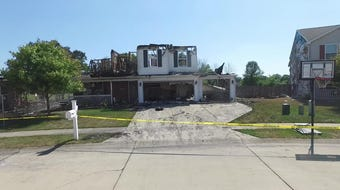 Video shows the damage caused Friday, July 12, 2019, when five houses inside Lindberg Village burned.