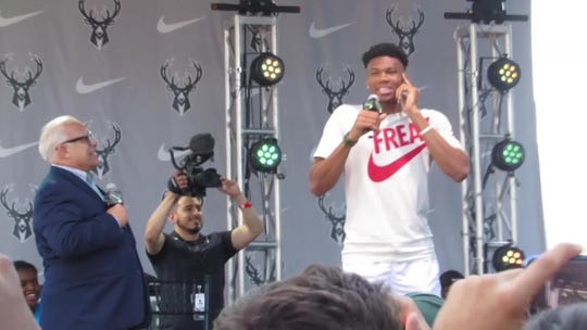 Don't call him the MVP, Giannis begs fans. 'Because I'm not done yet.'