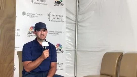 Tony Romo pulls away to defend title at American Century Championship in Tahoe