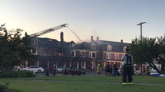 """""""It is unfortunate for the residents,"""" Leo Independent Fire Engine Co. No. 1 Fire Chief Joseph Silar said. """"They pretty much have lost pretty much everything in this fire."""""""