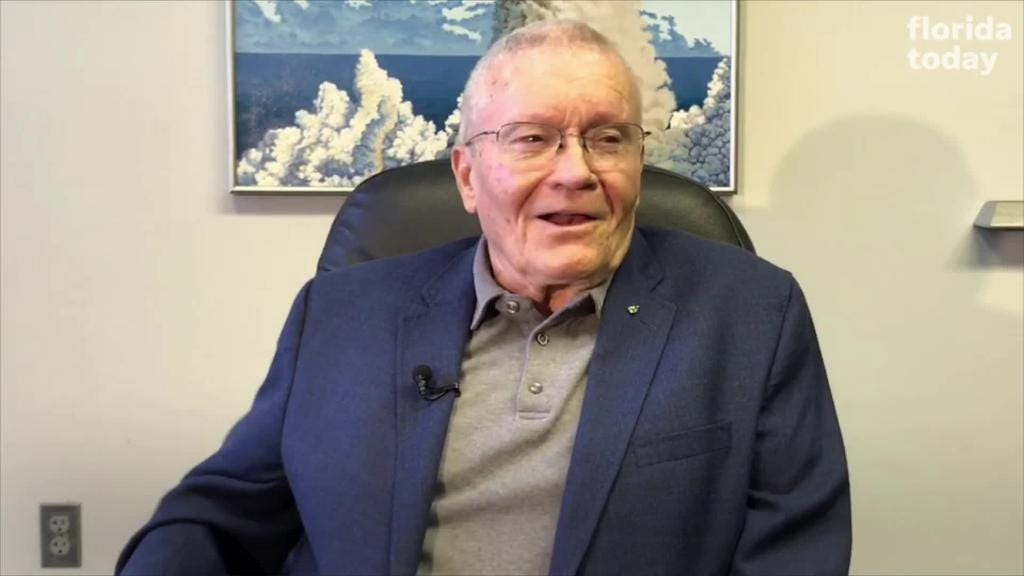 Astronaut Fred Haise talks about being a backup for Apollo