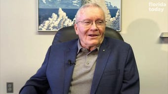 Apollo 13 astronaut Fred Haise was part of the backup crew for Apollo 11. He explains where he was on launch and landing days.