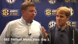Joe Rexrode and Adam Sparks discuss the announcement that SEC Media Days will be held in Nashville in 2021.