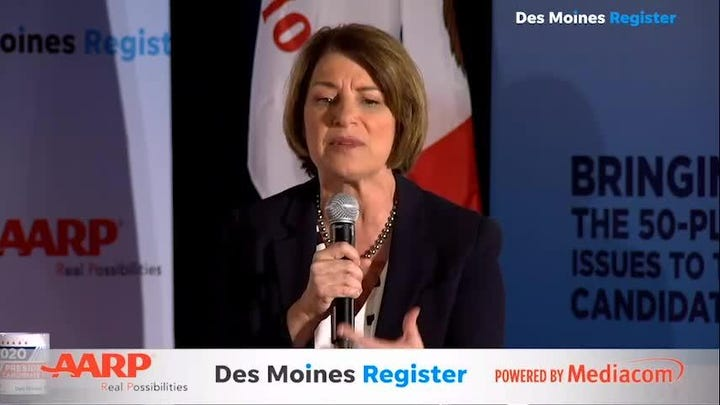 """Sen. Kloubuchar discusses Affordable Care Act and """"Silver Surge"""""""