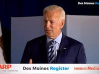 "Former Vice President Joe Biden discusses his healthcare plan and the ""public option"""