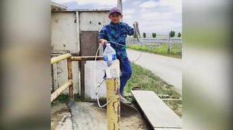 A video of seven-year-old David Lomeli roping the cap off of a bottle has been viewed over 150,000 times in the last week.