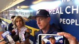 Brewers manager Craig Counsell talks about sending starter Corbin Burnes to the injured list to rest an ailing shoulder