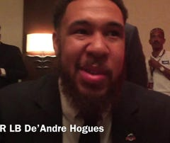 GSU's De'Andre Hogues discusses being the underdog