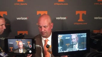 Tennessee coach Jeremy Pruitt discusses the impact of linebackers Daniel Bituli and Darrell Taylor