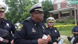 Chief: Officer shot woman armed with knife after a struggle in East Price Hill