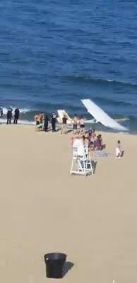 WATCH: Plane crash lands in Ocean City waters