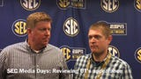 John Adams, Joe Rexrode and Blake Toppmeyer review Tennessee's appearance at 2019 SEC Media Days.