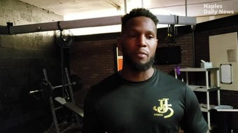 After his NFL career ended with a torn ACL, the Immokalee native earned his master's degree before starting his personal training company in 2018