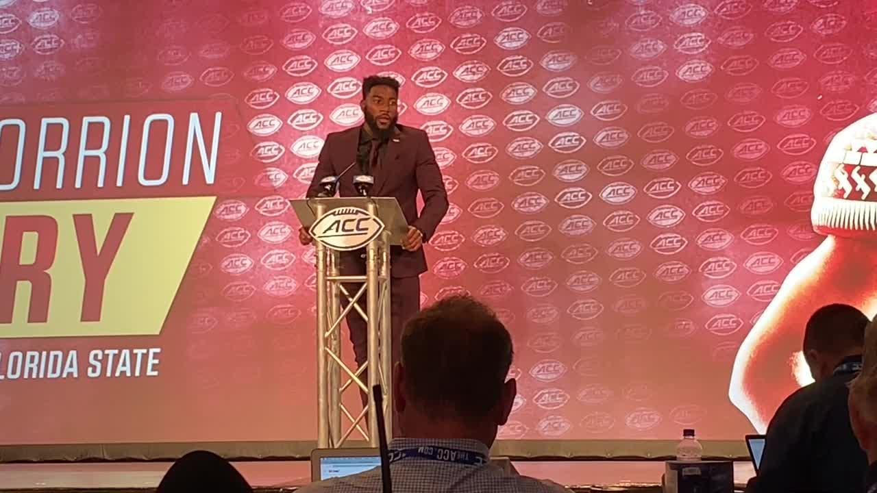 Watch it: FSU wide receiver Tamorrion Terry speaks at the 2019 ACC Kickoff