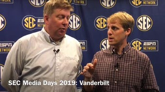 Joe Rexrode and Adam Sparks discuss Vanderbilt's appearance at the 2019 SEC Media Days in Hoover, Alabama.