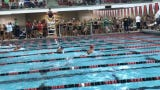 Suzie Shultz, 11, swam a time of 34.92 to win the 11-12 50 breaststroke for the Baltimore Sea Lions on Thursday during the TCAL championships.
