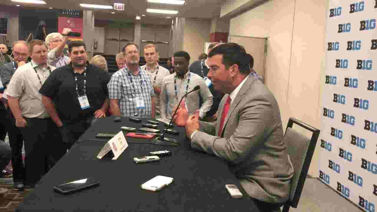 Ohio State's Jonathon Cooper emulates Woody Hayes: 'The team up north'