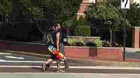 Camden pedestrians targeted in paintball attacks