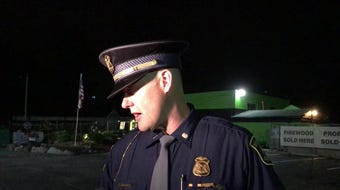 Mich. State Police Lt. Darren Green gives update on fatal crash on Old U.S. 127 and Cutler Road in DeWitt Township.