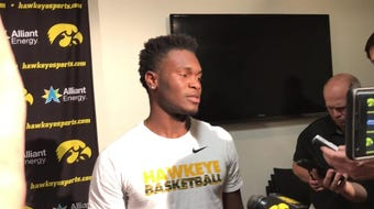 Incoming Iowa point guard Joe Toussaint uses quickness as his chief asset, and that is particularly helpful on defense. Hear him explain: