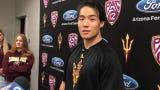 Chinese native Peter Zhong making ASU hockey debut on team's trip to China