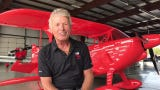 Air show icon Sean D. Tucker talks at EAA AirVenture 2019 about returning to Oshkosh and donating his Oracle Challenger III to the Smithsonian.